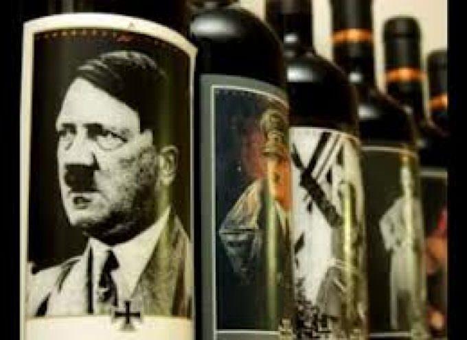 Vino: bottiglia con l'immagine di Hitler, turisti scioccati