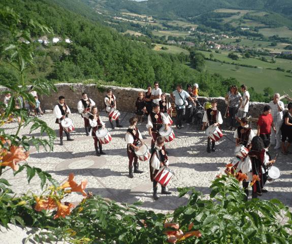 """""""Il Castello del Gusto"""", dal 9 all'11 agosto a Campi alto di Norcia"""