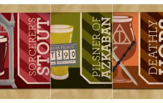 Birra, etichette ispirate ad Harry Potter