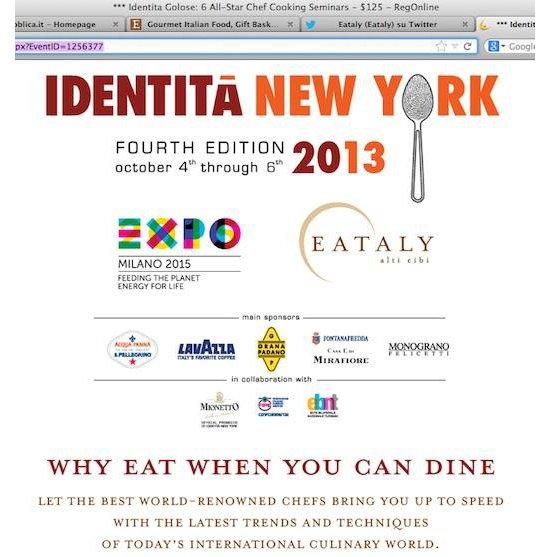 Identità Golose: Newsletter n. 402 di Paolo Marchi del 29 agosto 2013