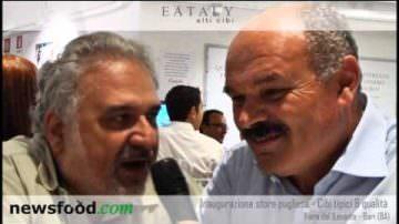 Oscar Farinetti balla la Taranta – Inaugurazione EATALY Bari 2013 (video)