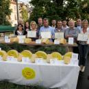 """I vincitori del """"Concorso per il miglior formaggio Asiago DOP Vecchio e Stravecchio di Malga"""""""