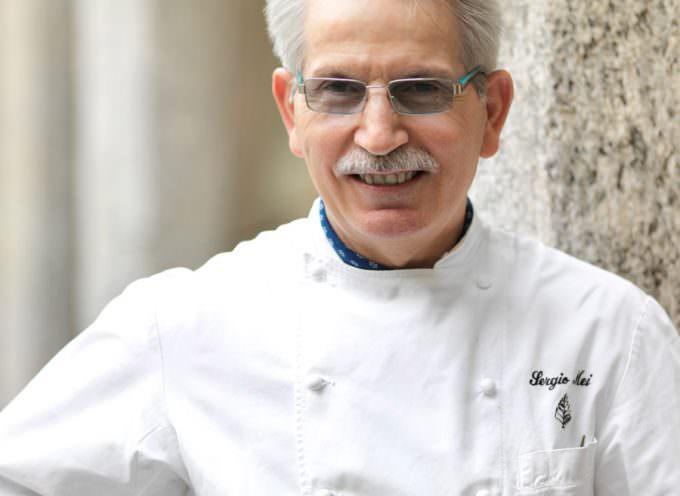 Gastronauta 2014: Lo chef Sergio Mei ritira il premio alla Carriera