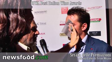 Luca Gardini, ideatore Best Italian Wine Awards 2013 – Premiazione Biwa (Video)