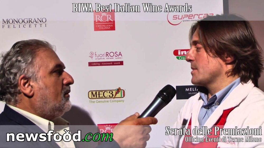 Sergio Motta, Ristorante Macelleria Motta, al Best Italian Wine Awards (Video)