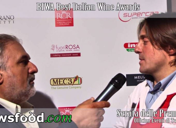 Sergio Motta, Ristorante Macelleria Motta, al Best Italian Wine Awards (Video)