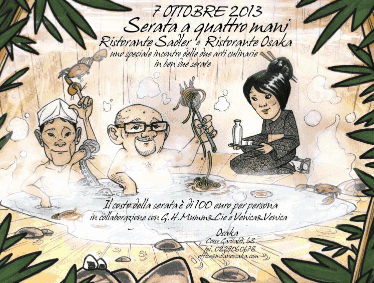 Un menu speciale il prossimo 25 novembre al ristorante Sadler