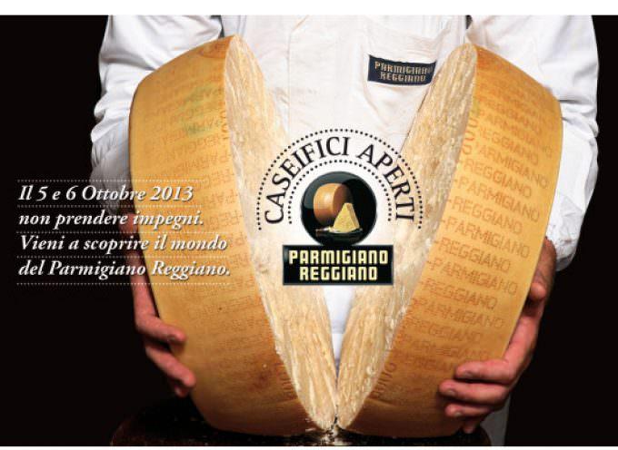 I caseifici del Parmigiano Reggiano aprono le porte ai consumatori