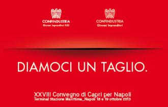Discorso di apertura dal Presidente Giorgio Napolitano. Economia e politica come unico slancio per ripartire