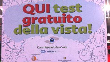 Commissione Difesa Vista: Controlli gratuiti della vista al Salone Internazionale del Giocattolo