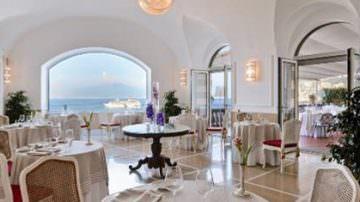 Sorrento: Stella Michelin al ristorante Terrazza Bosquet del Grand Hotel Excelsior Vittoria
