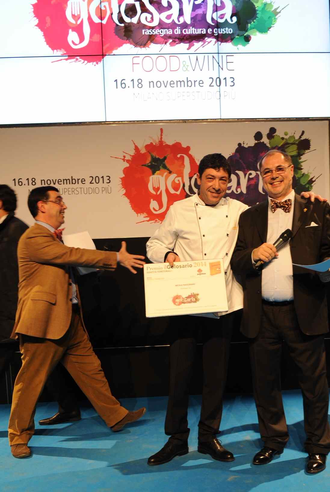 Golosaria: Milano premia il panettone siciliano di Nicola Fiasconaro