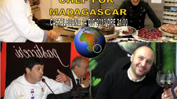 Chef for Madagascar, la cena di solidarietà preparata da tre grandi chef