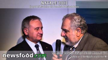 Giuseppe Vaccarini, Presidente ASPI: Auguri di Natale 2013 (Video)
