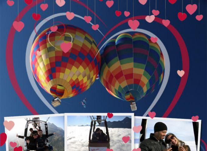 Aosta: A San Valentino lasciatevi trasportare da una bolla d'aria calda…