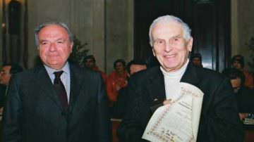 Silvio Garattini insignito della laurea honoris causa. Il plauso di Achille Colombo Clerici