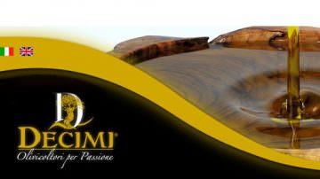 La qualità del grande olio extravergine della famiglia Decimi