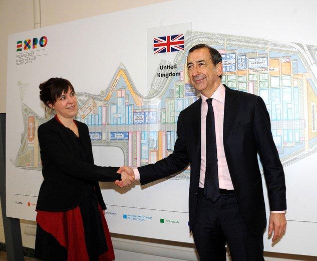 """""""Grown in Britain, Shared Globally"""": Il Regno Unito a Expo Milano 2015"""