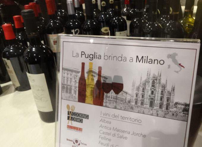 """La Puglia protagonista di una giornata enogastronomica a Milano in occasione  del """"Cooking Demo"""" presso Misura Arredamenti"""
