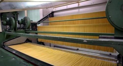 Pastificio, Macchinario per la lavorazione della pasta