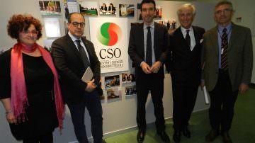 Paolo Bruni: coltiviamo una nuova idea di sviluppo. Al CSO, Ministro Martina, De CAstro, Rabboni