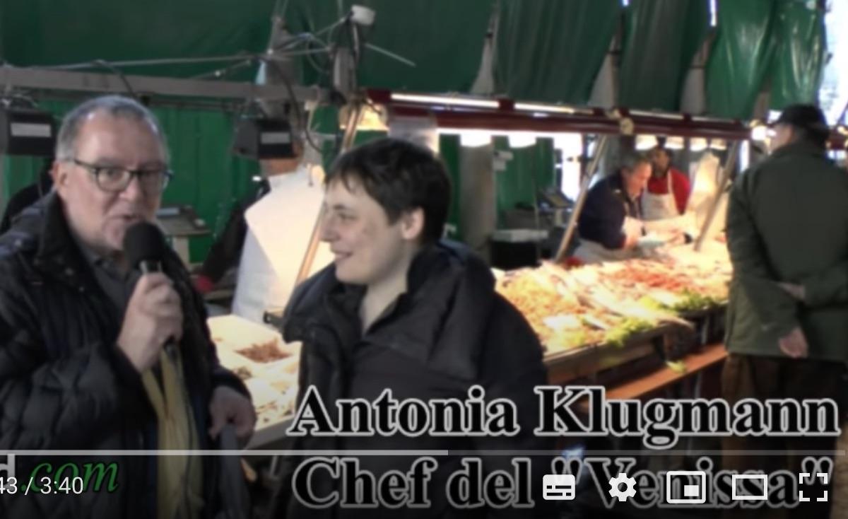 Antonia Klugman, chef del ristorante Venissa: pesce fresco e di qualità (Video)