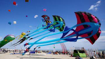 Cervia, dal 24 aprile al 4 maggio: 34° Festival Internazionale dell'Aquilone