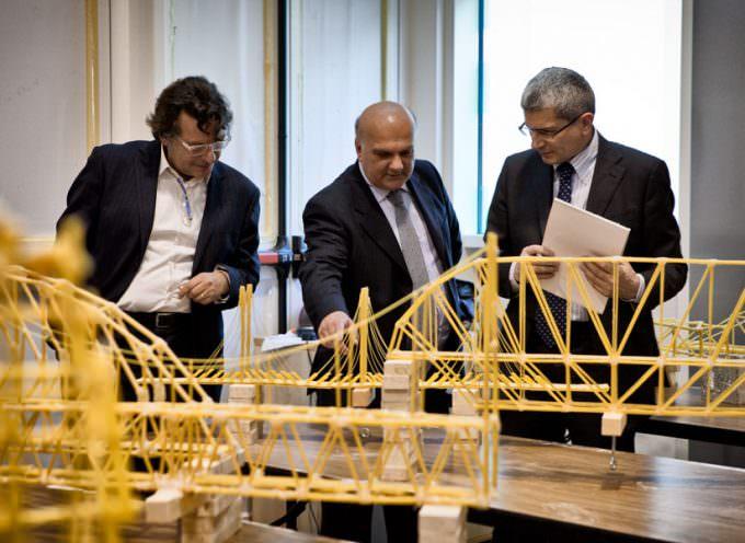Granoro: Spaghetti Bridge competition con gli studenti di Ingegneria dell'UniSalento