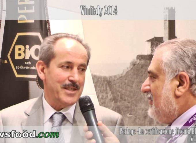 Vinitaly: Ivo Nardi di Perlage, presenta Perlapp Rosè, il primo spumante Rosè Bio