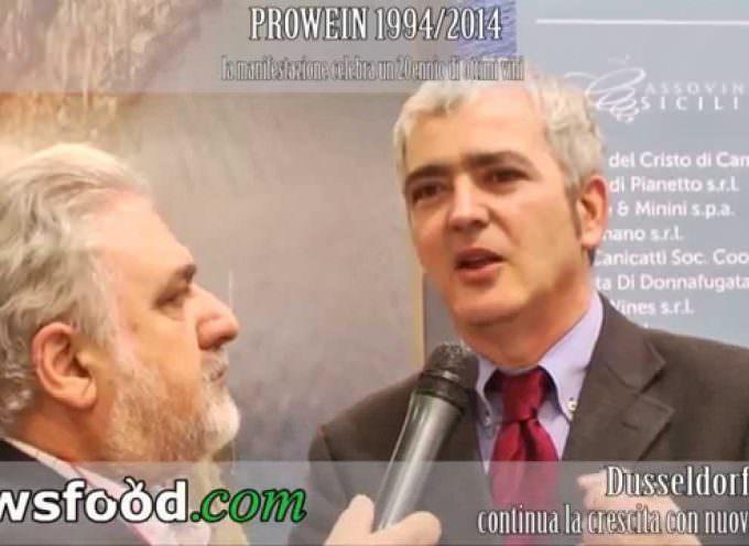 Lucio Monte, Direttore Generale IRVOS: Vino e Olio della Sicilia a Prowein 2014