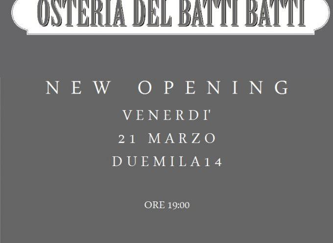 Milano: Lo chef Riccardo Minati apre l'Osteria del Batti Batti