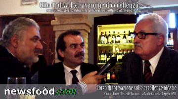 Sandro Vitali e il prof Claudio Peri: da Spello i corsi per la Rinascita dell'Extravergine di oliva