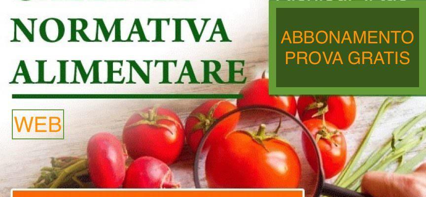 Gazzetta Normativa Alimentare Web: Abbonamento 2018