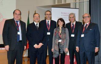 """Convegno nazionale di Milano """"Brokers e piccole medie imprese – La protezione assicurativa come fattore di sviluppo delle PMI"""