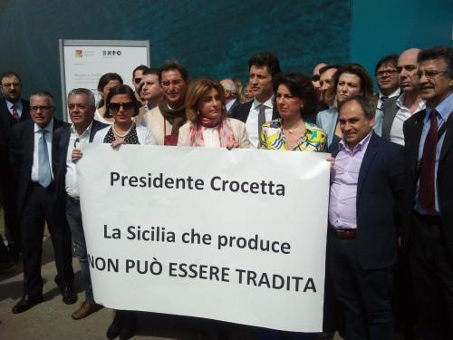 Solidarietà dei Siciliani a Vinitaly per Dario Cartabellotta