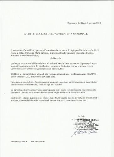 Lino Cauzzi: AVVOCATI