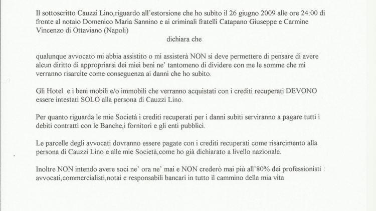 Lino Cauzzi non demorde: quando mi ridate il mio hotel Hermes di Cremona?