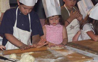 Ricci Hotels di Cesenatico (FC): I bimbi imparano a fare la piadina!