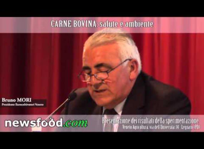Bruno Mori Presidente Eurocoltivatori Veneto al Convegno CARNE BOVINA: salute e ambiente