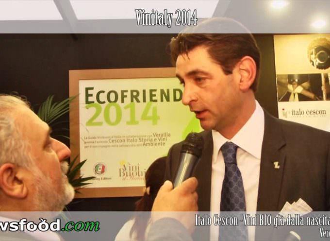 Il Manzoni Bianco di Domenico Cescon, Winemaker dell'azienda Italo Cescon a Vinitaly 2014