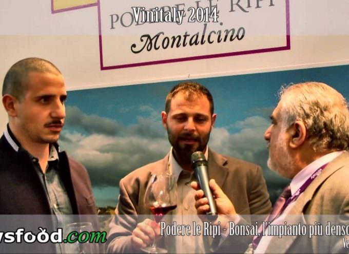 Podere Le Ripi: le vigne bonsai di Francesco Illy a Vinitaly 2014