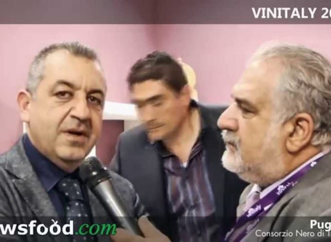Antonio Gargano, Presidente Consorzio Nero di Troia del Tavoliere delle Puglie DOC a Vinitaly 2014