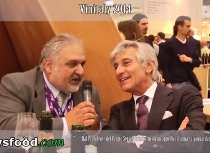 Paolo Bruni  e il Vino della Pace di Cormons a Vinitaly 2014