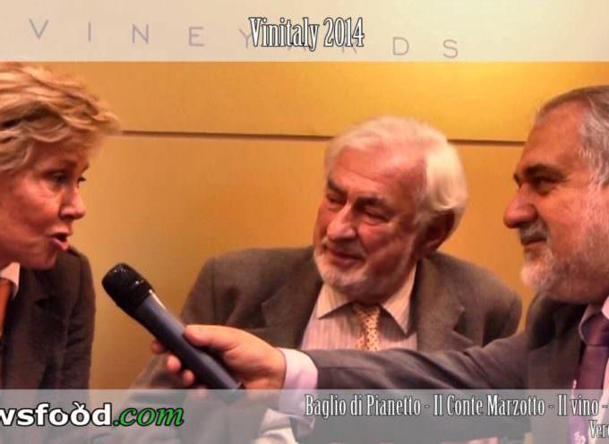 Paolo Marzotto con la moglie Carolina: Amore, passione e Agnus di Baglio di Pianetto – Vinitaly 2014