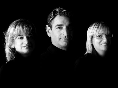 Gloria, Graziella e Domenico Cescon