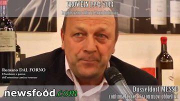 Romano Dal Forno: Amarone n° 1 nel mondo – Prowein 2014