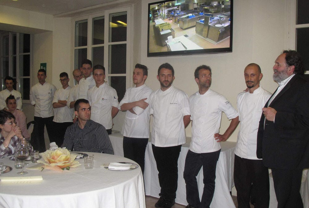 Scuola cucina alma di colorno una giuria con stelle michelin