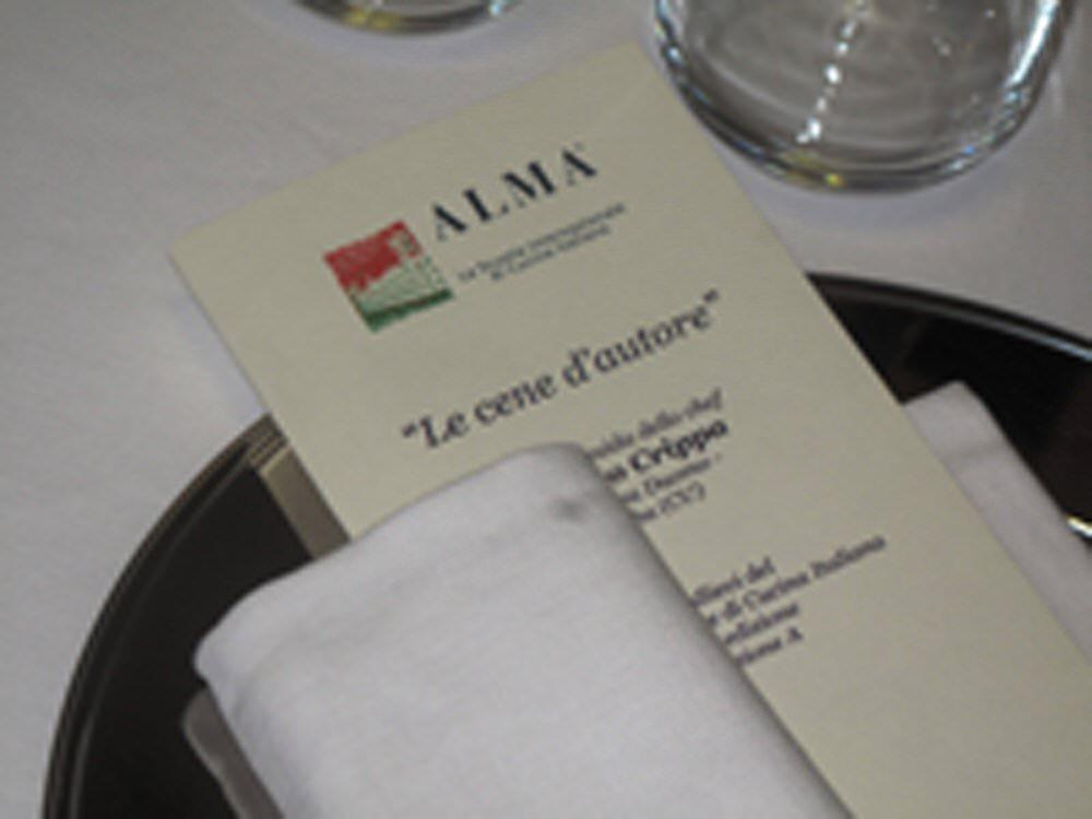 Scuola di cucina italiana alma cena d autore con lo chef enrico crippa - Alma scuola cucina ...