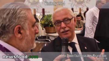 Cav. Tommy Chiarella: il Vino parla e racconta la sua storia  –  Vinitaly 2014.