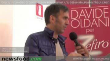 Zefiro Eridania: il 'D'Olce' di Davide Oldani, cuoco designer della cucina italiana